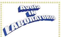 Logo di Avola in laboratorio